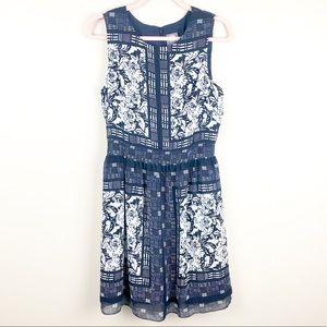 VINCE CAMUTO Floral Print Dress